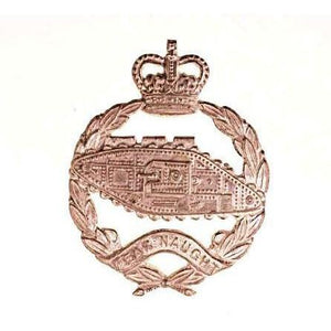 Cap badge - RTR - Brass with Nickle Plate - Shank & Pin [product_type] Ammo & Company - Military Direct