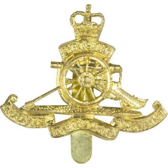 Cap Bge - Royal Artillery - Brass - V Hook [product_type] Ammo & Company - Military Direct