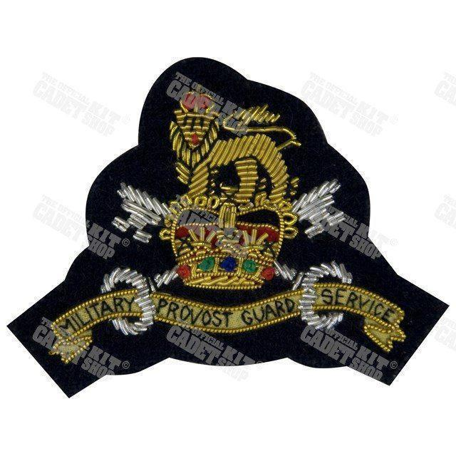 MPGS Officers' Embroidered Badge Embroidered Beret & Cap Badges Ammo & Company - Military Direct