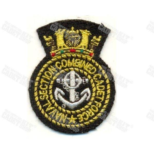 Naval Section CCF Beret Badge Embroidered Beret & Cap Badges Ammo & Company - Military Direct