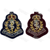 RAMC Officers' Beret Badge Embroidered Beret & Cap Badges Ammo & Company - Military Direct