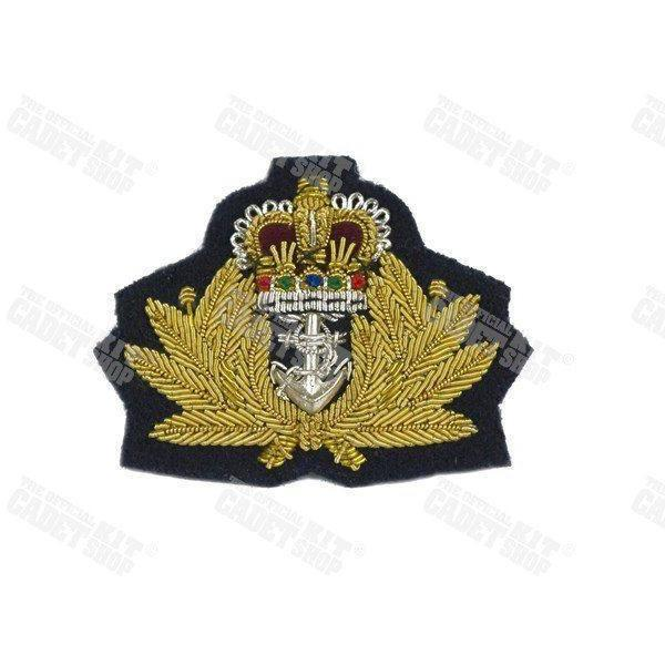 Royal Navy Officers Beret Badge Embroidered Beret & Cap Badges Ammo & Company - Military Direct