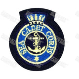 Sea Cadet Corps Cloth Badge Embroidered Beret & Cap Badges Ammo & Company - Military Direct
