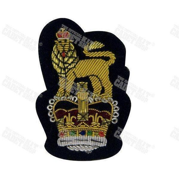 Staff Officers' Forage Cap Badge Embroidered Beret & Cap Badges Ammo & Company - Military Direct