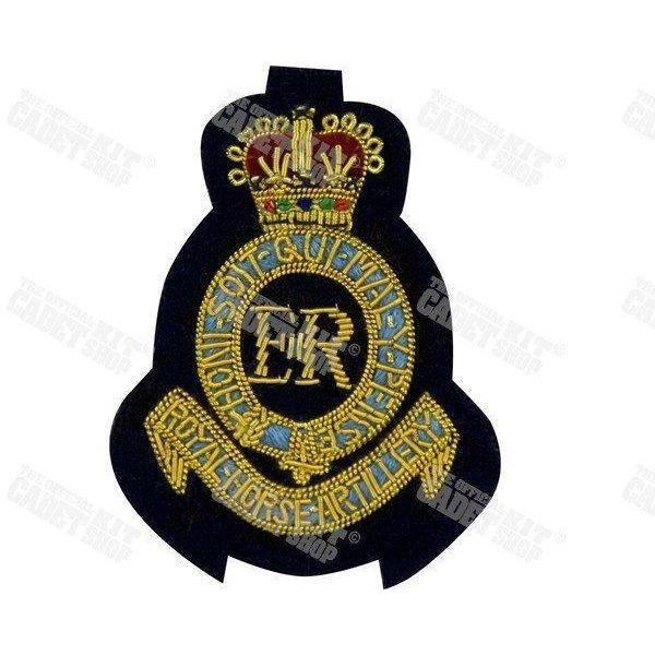 The Royal Horse Artillery Embroidered Badge Embroidered Beret & Cap Badges Ammo & Company - Military Direct