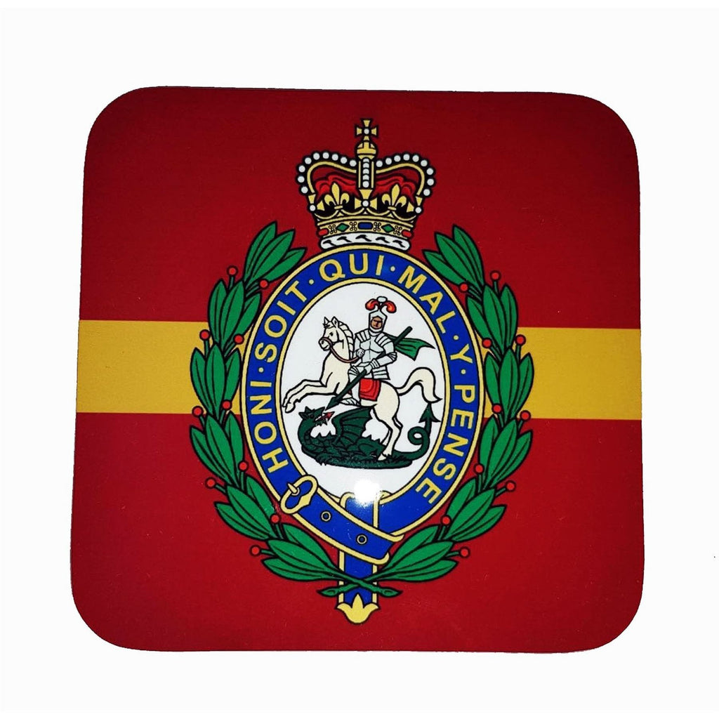 The RRF Coaster with Crest 10cm x 10cm [product_type] Military Covers - Military Direct
