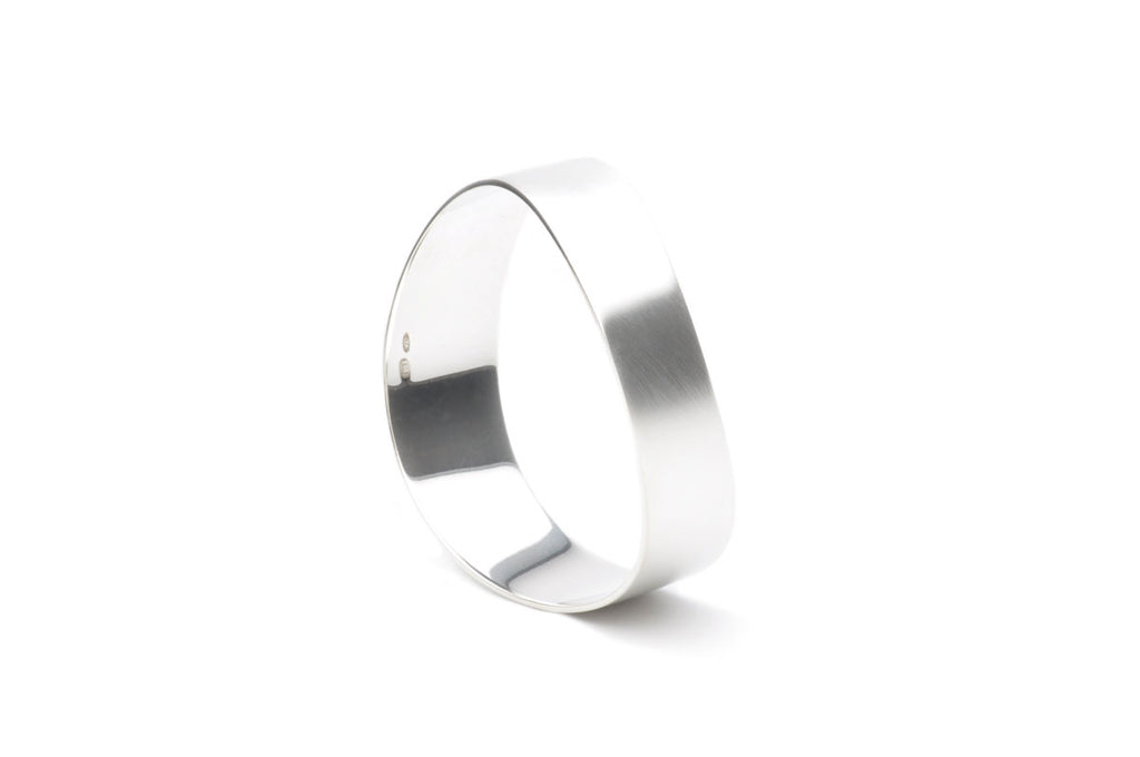 Sterling silver satin matte finish. $595.00