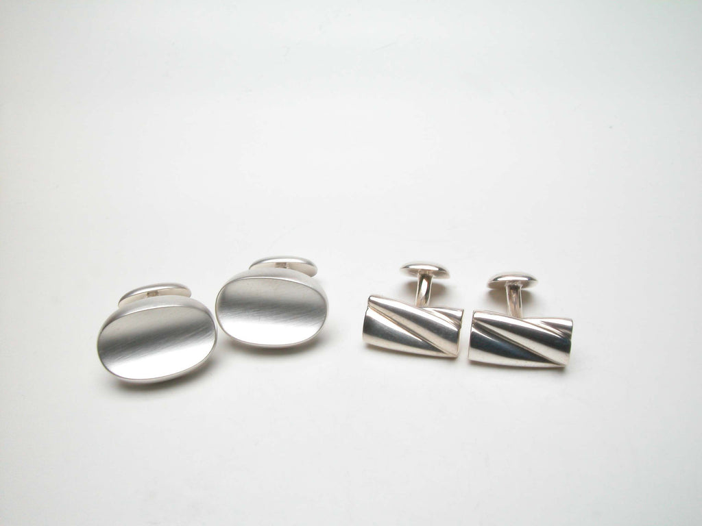 Sterling silver, CL001 on the right, shown with CL011. $395.00