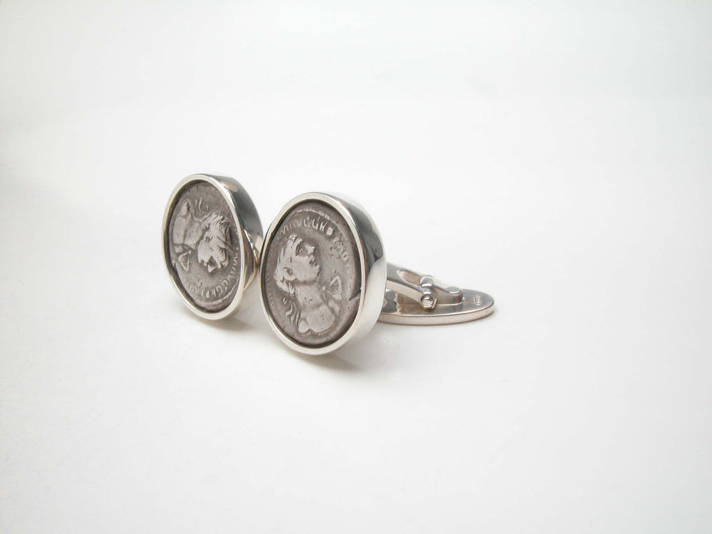 Sterling silver, Roman coin replica. $580.00