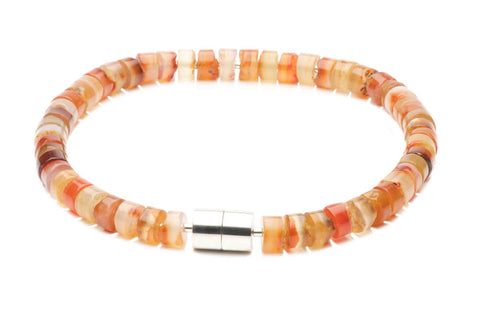 Necklace Carnelian Roundels