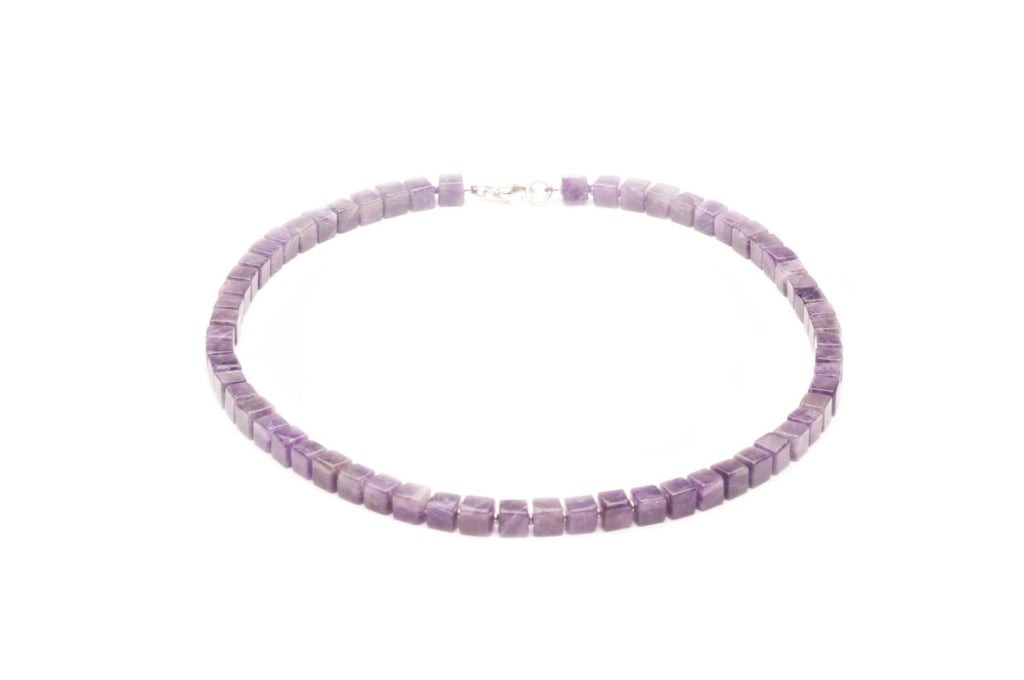 Amethyst and sterling silver $290.00