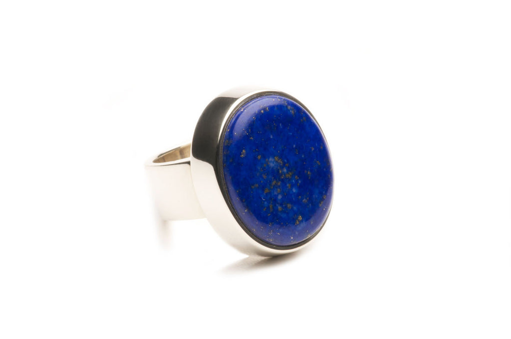 Sterling silver ring with Lapis Lazuli. $1,100.00