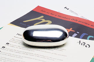 Paperweight, solid sterling silver. A great corporate gift!