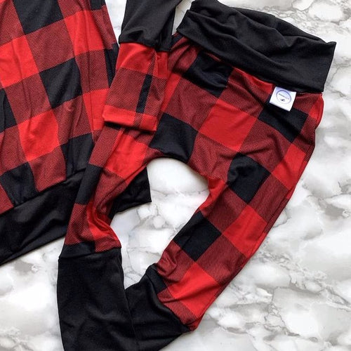 Buffalo Plaid GWM Pants
