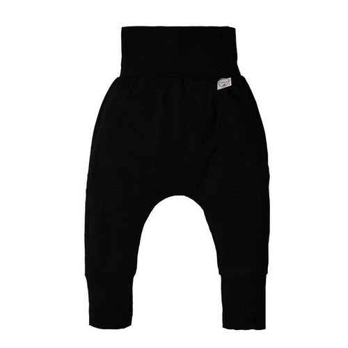 Grow with Me Solid Black Pants