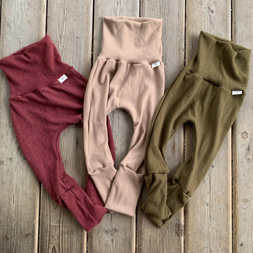 Solid French Terry Sof GWM Pants 3 Colours