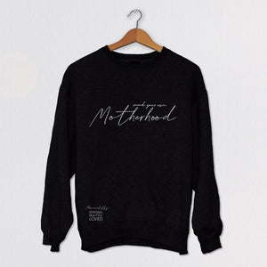 Mommalilly Crew Long Sleeve Sweater Mind Your Own Motherhood