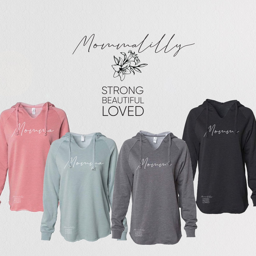 Mommalilly Hoodie 4 Colours Momma Sweater