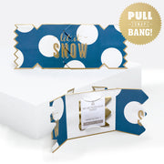 'Bold And Bright Snow Spot' Cracker Card