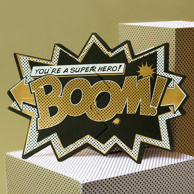 Luxury Edition-Gold 'Boom' Action Card