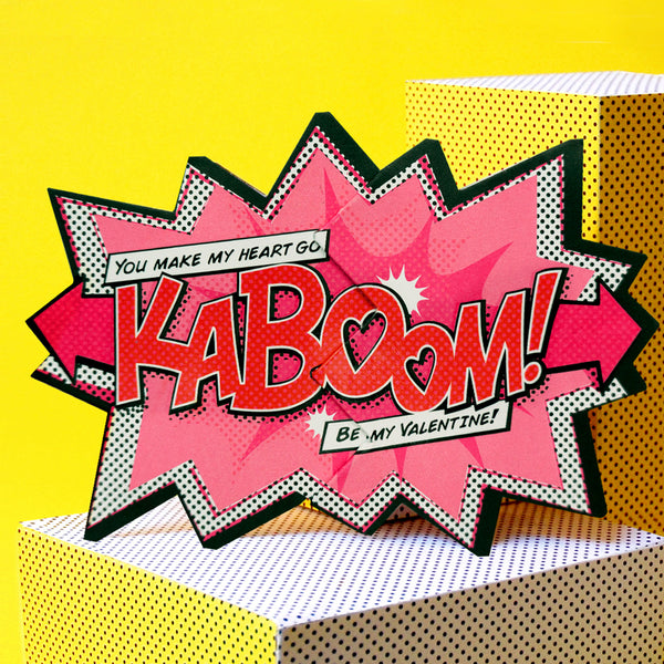 'Kaboom!' Action Card