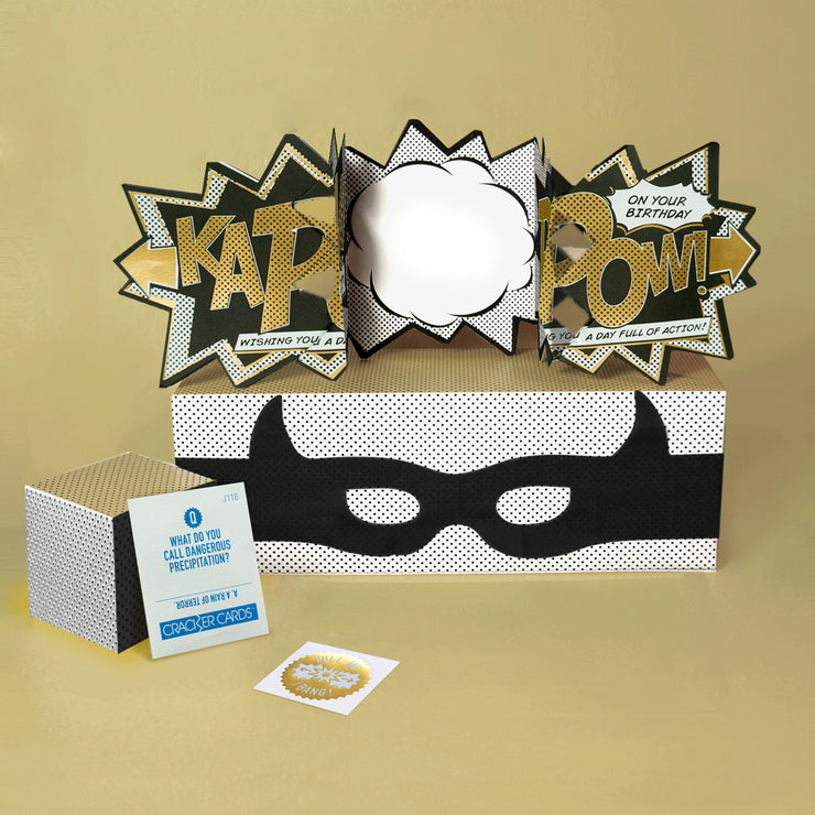 'Luxury Edition Gold Kapow' Action Card