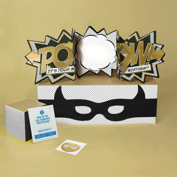 Luxury Edition Gold 'Pow' Action Card