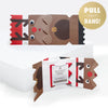 Cracking Cuties Rudolph Christmas Cracker Card