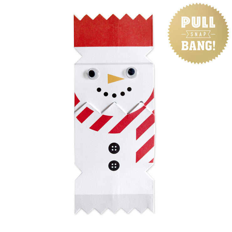 'Cracking Cuties Snowman' Cracker Card