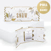 Luxe Snowflake Christmas Cracker Card
