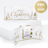 Luxe Merry Christmas Cracker Card