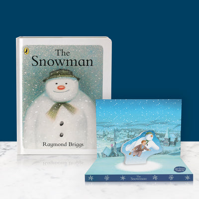 The Snowman Music Box Card & Board Book Gift Set