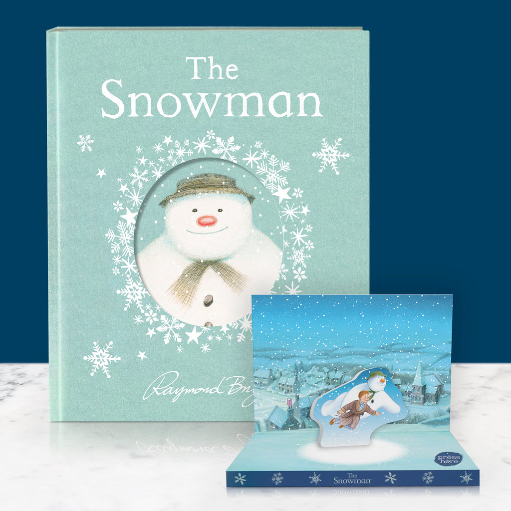The Snowman Music Box Card & 40th Anniversary Edition Book Gift Set