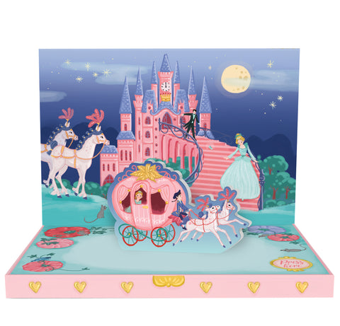 Cinderella's Dream Music Box Card
