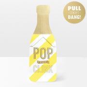 'Fizz Clink Pop' Pop Card