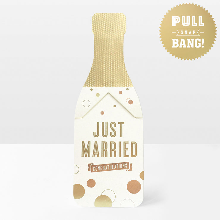 'Just Married' Pop Card