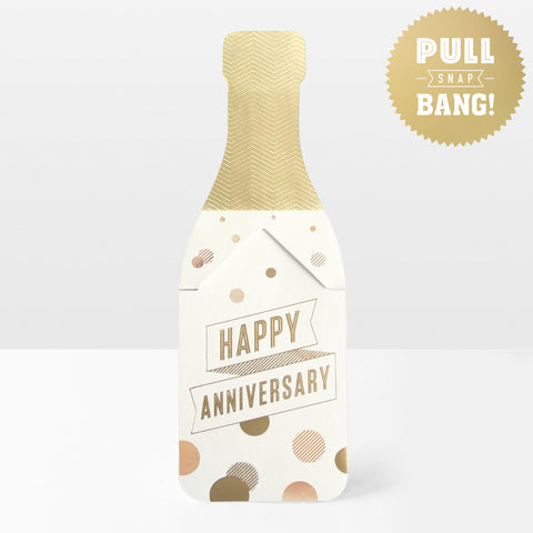 Happy Anniversary Pop Cracker Card