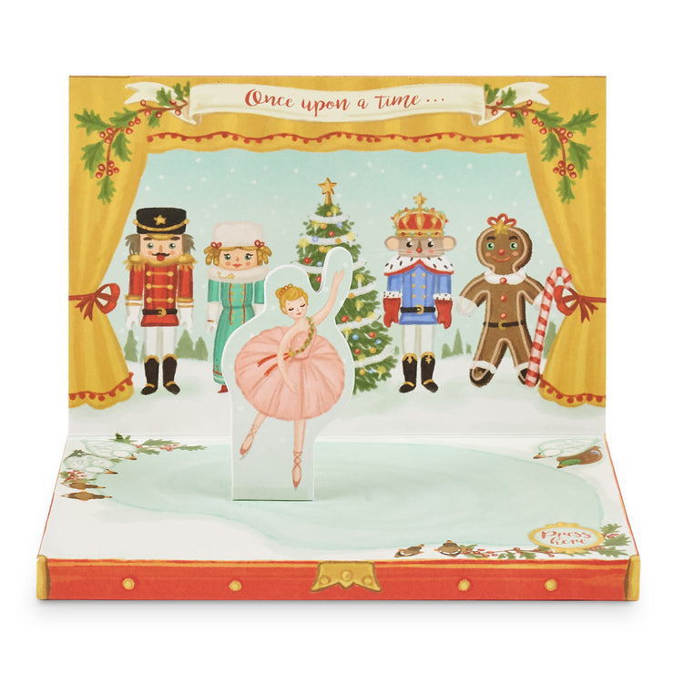 The Nutcracker Music Box Card
