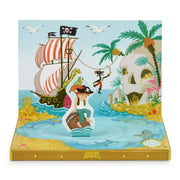Pirate Adventures Music Box Card