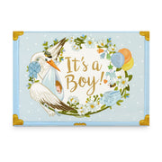It's A Boy Music Box Card