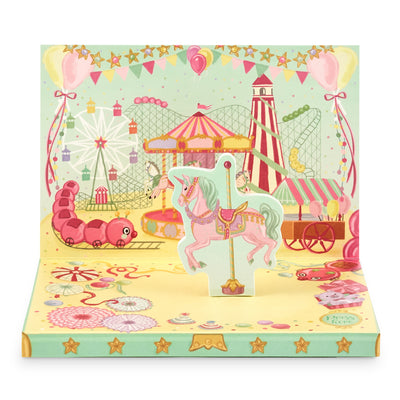 Fun At The Fair Music Box Card