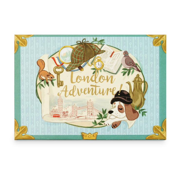 'London Adventure' Music Box Card