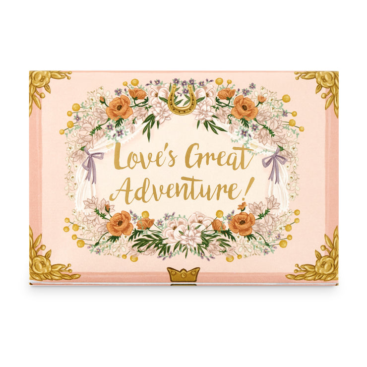 'Love's Great Adventure' Music Box Card