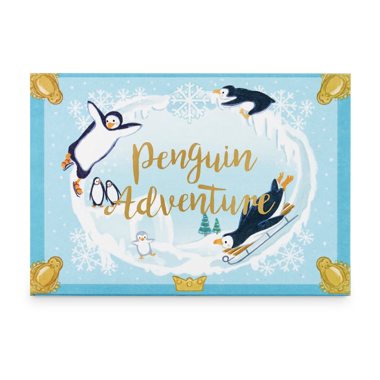 Penguin Adventures Music Box Card