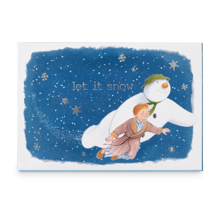 The Snowman Music Box Card