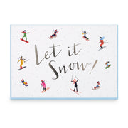 Let it Snow Music Box Card