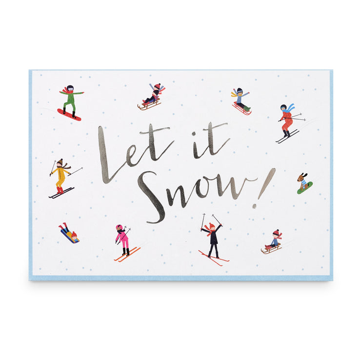 'Let it Snow' Music Box Card