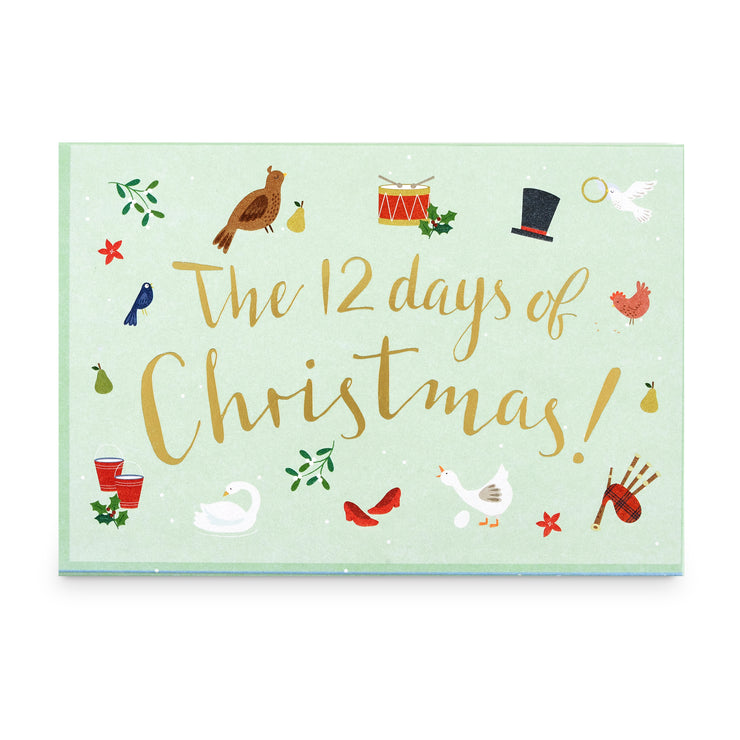 'The 12 Days of Christmas' Music Box Card