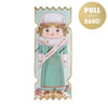 Nutcracker Doll Christmas Cracker Card