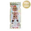 Nutcracker Gingerbread Christmas Cracker Card